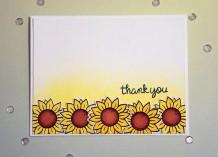 Sunflower Thank You 1