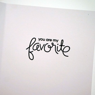 I Think You Are My Favorite 8
