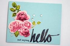 Just Saying Hello 1