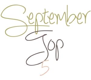September Top 5